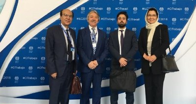 Afghanistan Minister of Labour participated in the 107th Session of ILO