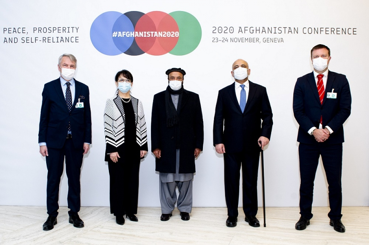 Communiqué 2020 Afghanistan Conference, 23-24 November Geneva Peace, Prosperity and Self-Reliance