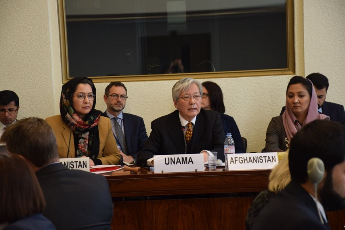 The Senior Officials' Meeting conducted on November 8 in UN Geneva