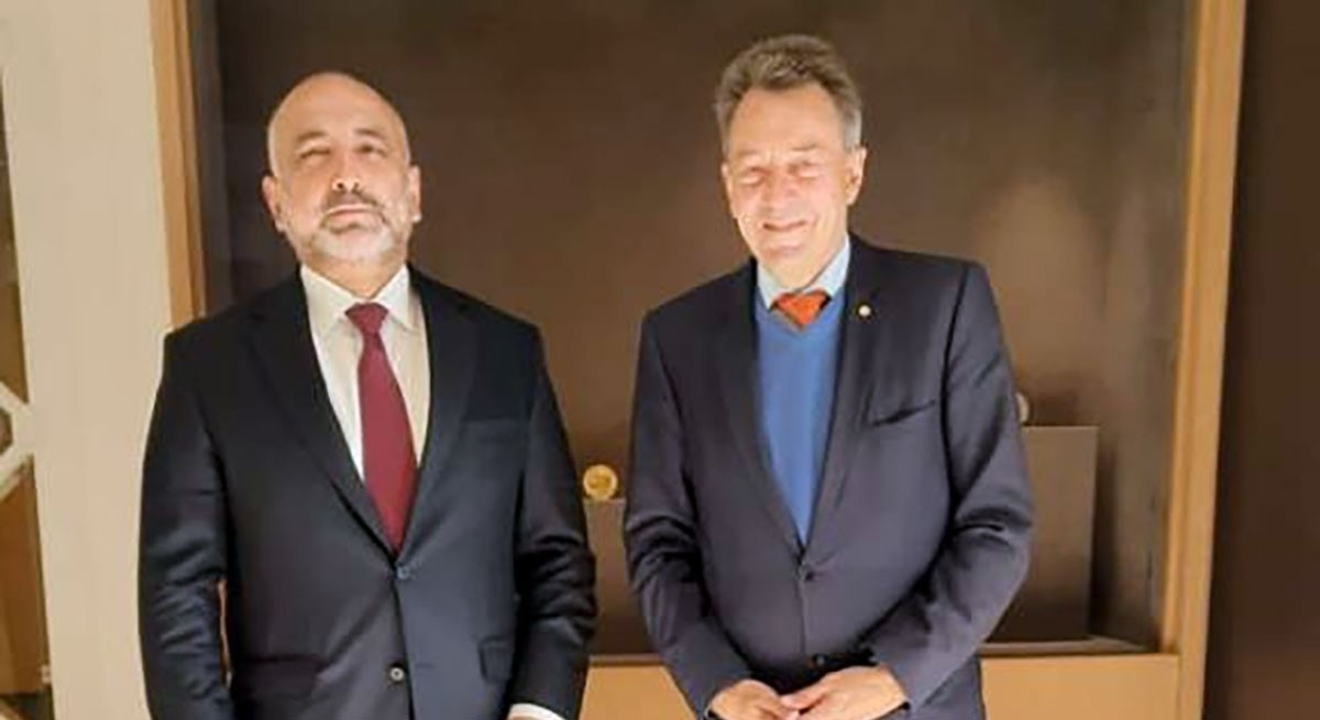 Foreign Minister Meets with the President of the ICRC