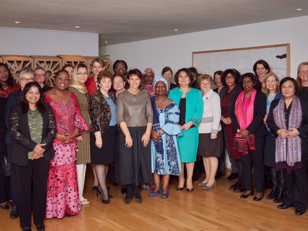 Amb. Suraya Dalil with other Female Ambassadors Accredited to Switzerland met Her Excellency Doris Leuthard President of Swiss Confederation