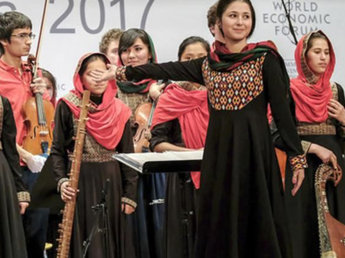 A message of courage and transformation from Kabul to Davos