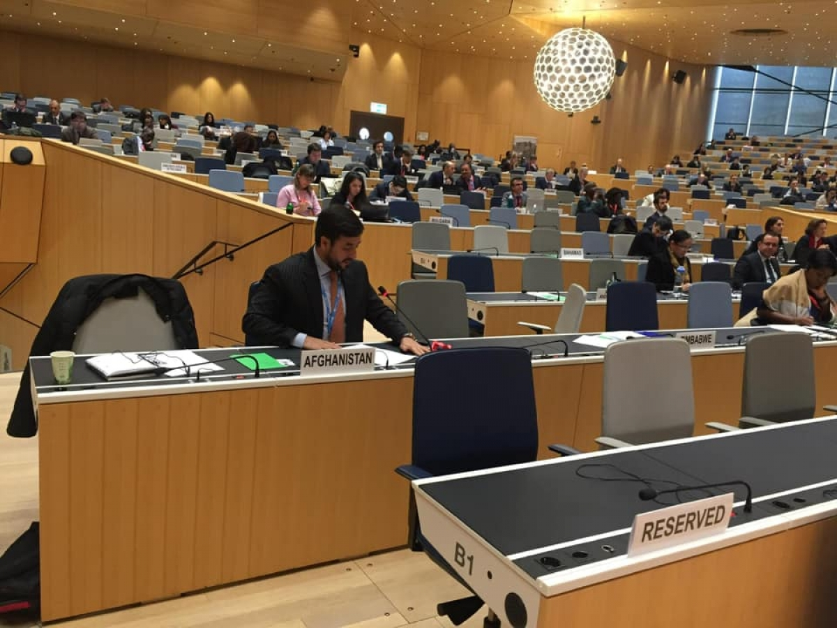 Statement delivered in the 110 th Session of the IOM Council (Nov 27, by Amb Andisha).
