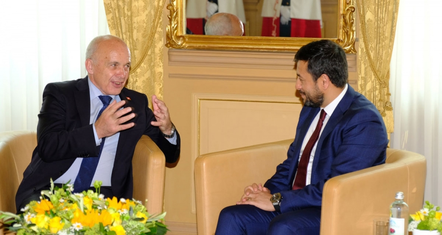 تقدیم اعتماد نامه سفیر کبیر و نماینده دایمی جمهوری اسلامی افغانستان در سازمان ملل متحد
